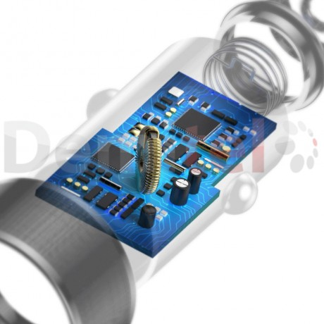 Зарядно за кола BASEUS Small Screw с кабел Lightning Черен