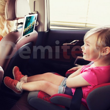 Стойка за подглавник на автомобил BASEUS Backseat Черен