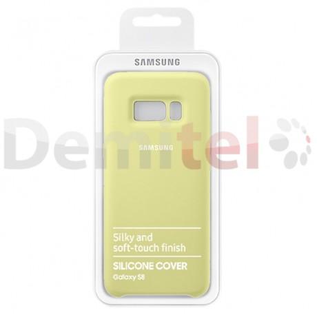 Силиконов гръб SAMSUNG Silicone Cover за Galaxy S8 Зелен