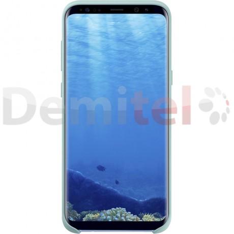 Силиконов гръб SAMSUNG Silicone Cover за Galaxy S8 Син