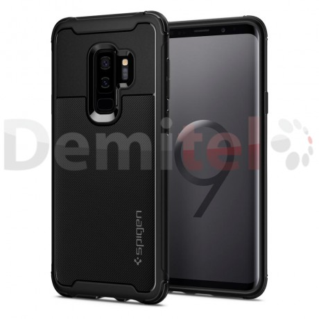 Силиконов гръб SPIGEN Rugged Armor Urban за Galaxy S9 Plus Черен