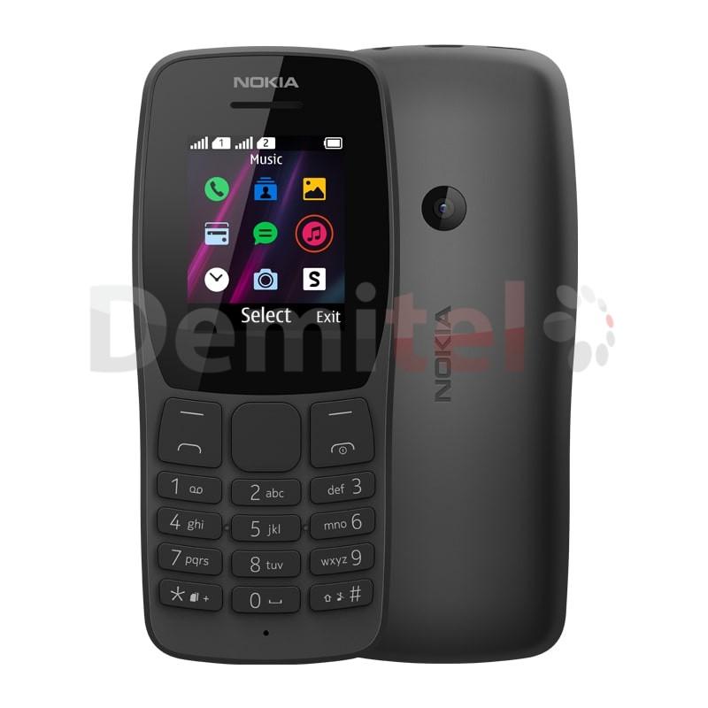 Мобилен телефон NOKIA 110 (2019) Dual Sim Черен