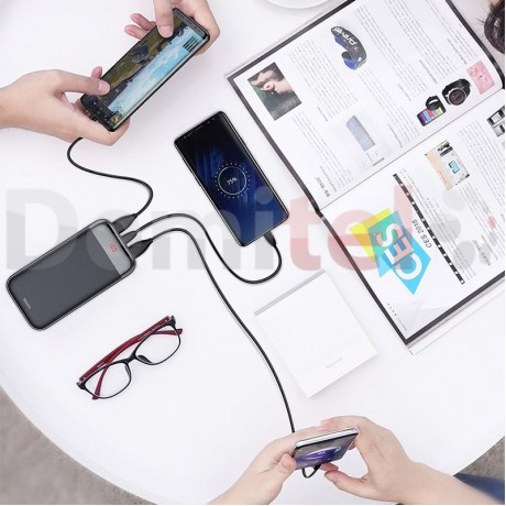 Преносима батерия BASEUS Mini Cu Digital Display 20000mAh Черен