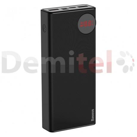 Преносима батерия BASEUS Mulight PD+QC3.0 20000mAh Черен