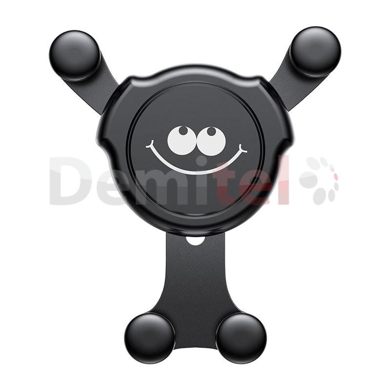 Стойка за автомобил BASEUS Emoticon Gravity Черен