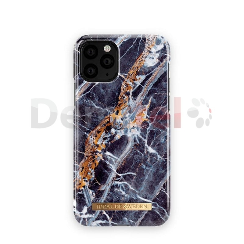 Поликарбонатен гръб IDEAL OF SWEDEN Midnight Blue Marble за iPhone 11 Pro Max Син