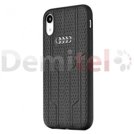 Силиконов гръб AUDI A6 D1 за iPhone XR Черен