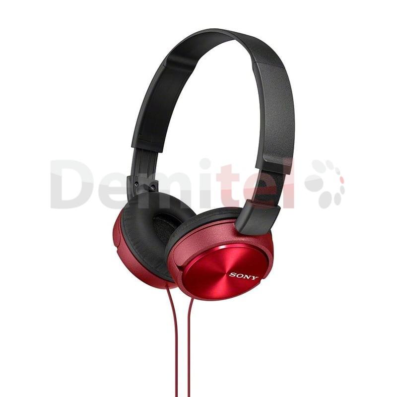 Слушалки SONY MDR-ZX310 Червени