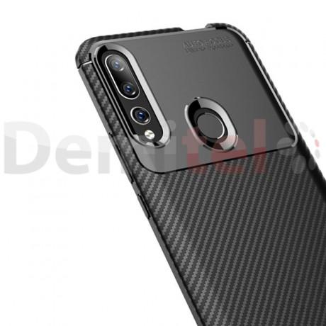 Силиконов гръб AUTO FOCUS Carbon за Huawei P Smart Z Черен