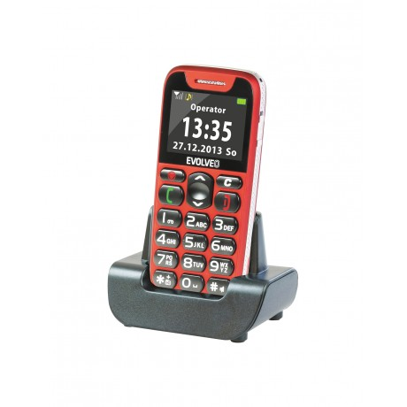 EVOLVEO EASYPHONE RED