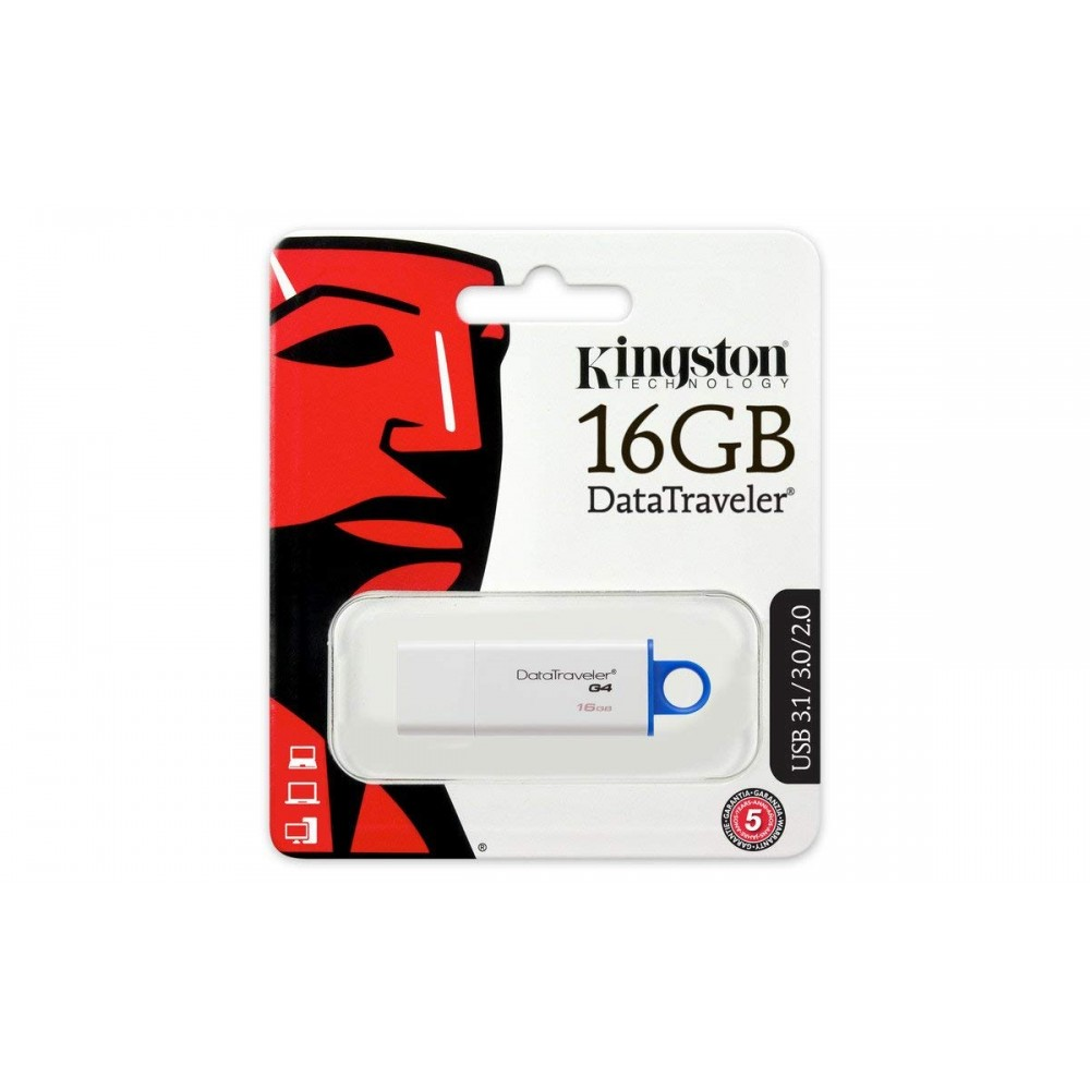 KINGSTON DATA TRAVELER G4 16GB USB 3.0