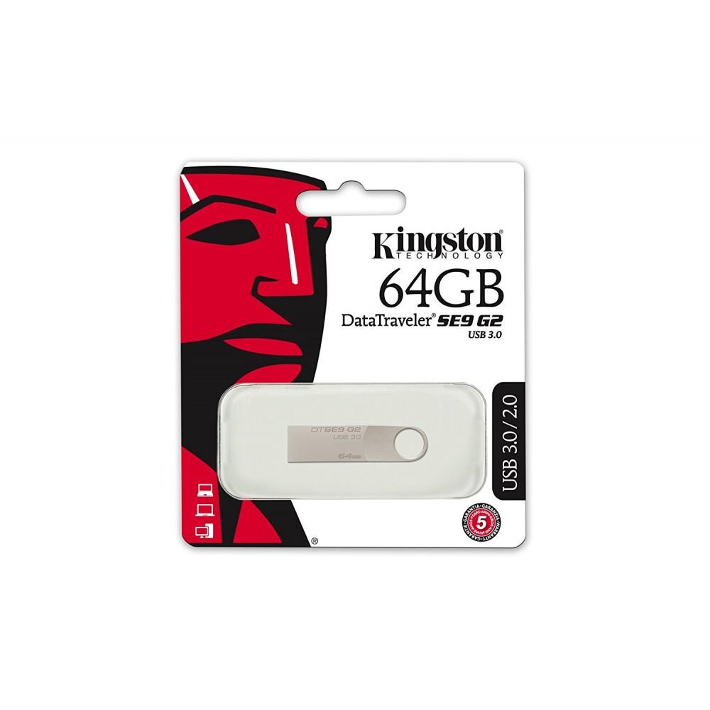 KINGSTON DATA TRAVELER SE9 G2 64GB USB 3.0