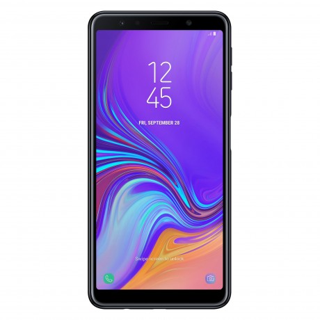 SAMSUNG GALAXY A7 2018 DUAL SIM 64 GB BLACK